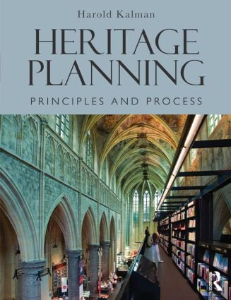 Heritage Planning: Principles and Process, 1st Edition (Paperback) book cover
