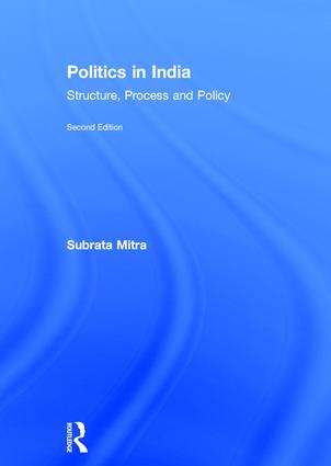 Politics in India: Structure, Process and Policy book cover