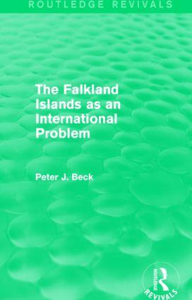 The Falkland Islands as an International Problem (Routledge Revivals)