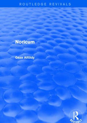 Noricum (Routledge Revivals): 1st Edition (Paperback) book cover