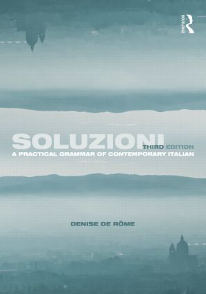 Soluzioni: A Practical Grammar of Contemporary Italian, 3rd Edition (Paperback) book cover
