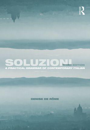 Soluzioni: A Practical Grammar of Contemporary Italian book cover