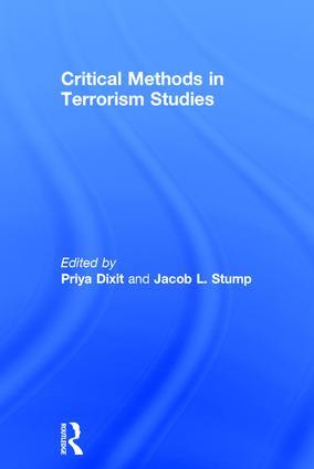 Critical Methods in Terrorism Studies: 1st Edition (Hardback) book cover