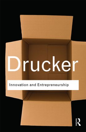 Innovation and Entrepreneurship book cover