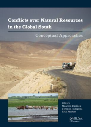 Conflicts over Natural Resources in the Global South: Conceptual Approaches, 1st Edition (Hardback) book cover