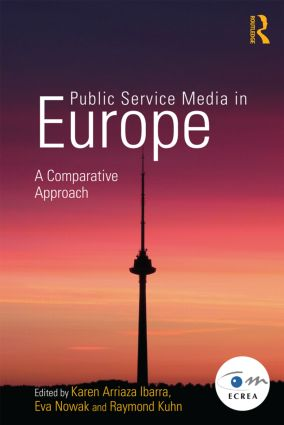 Public Service Media in Europe: A Comparative Approach (Paperback) book cover