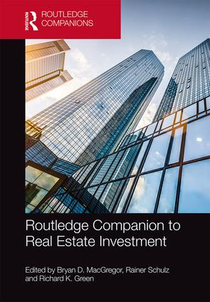 Routledge Companion to Real Estate Investment book cover
