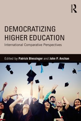 Democratizing Higher Education: International Comparative Perspectives, 1st Edition (Paperback) book cover