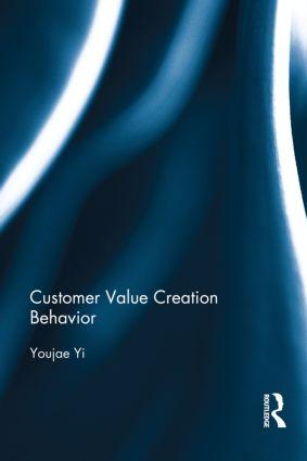 Customer Value Creation Behavior book cover