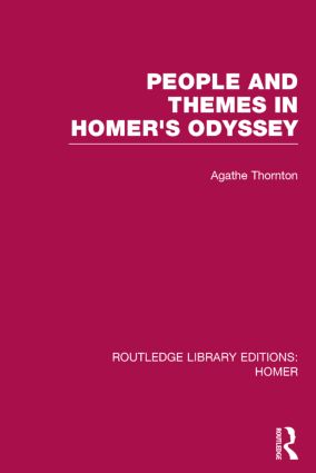 People and Themes in Homer's Odyssey book cover