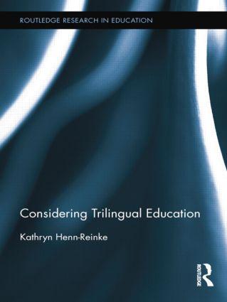 Considering Trilingual Education book cover