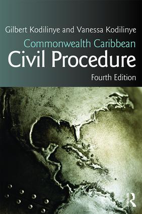 Commonwealth Caribbean Civil Procedure: 4th Edition (Paperback) book cover