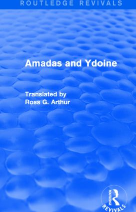 Amadas and Ydoine (Routledge Revivals): 1st Edition (Paperback) book cover