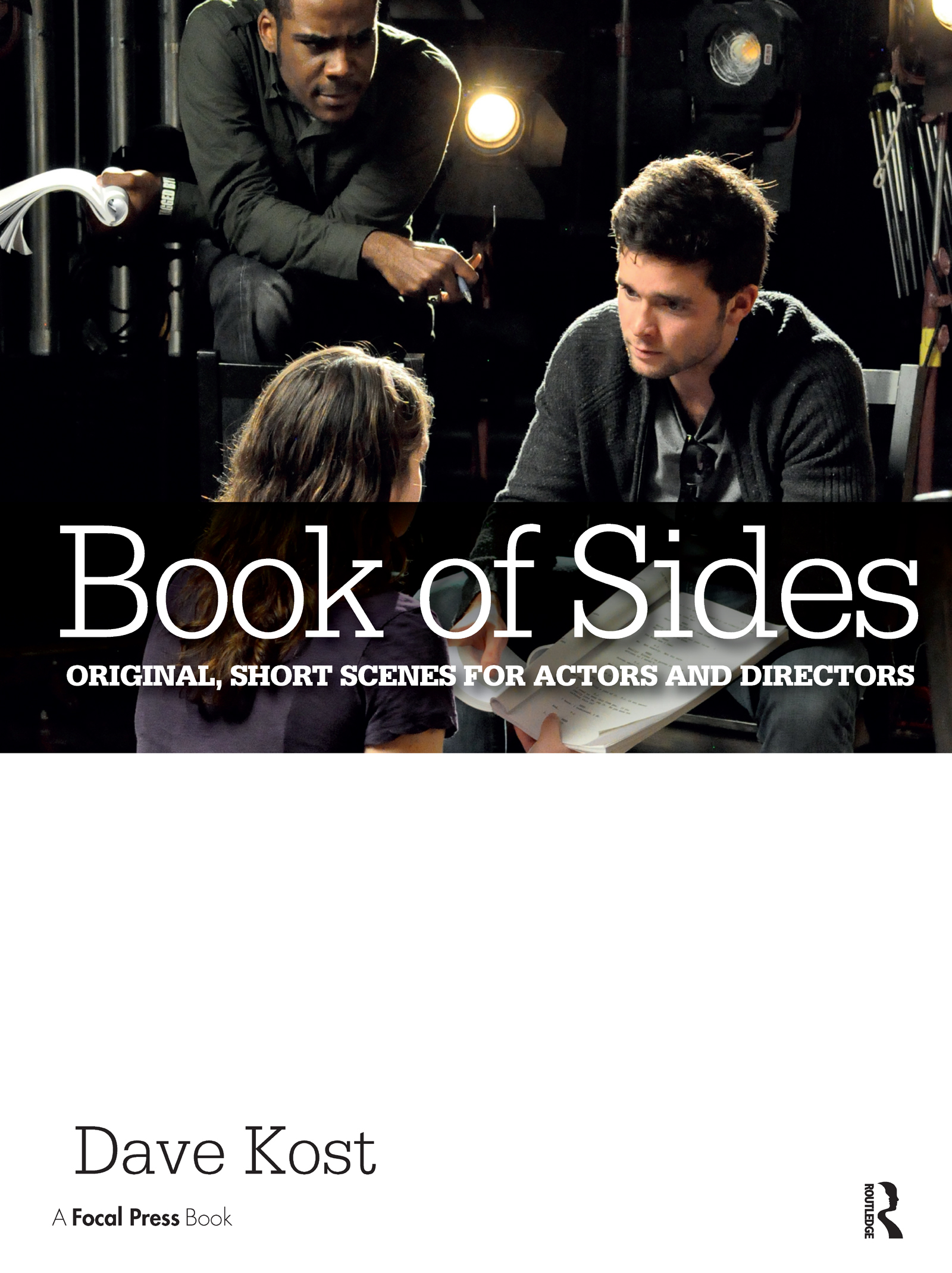 Book of Sides: Original, One-Page Scenes for Actors and Directors book cover
