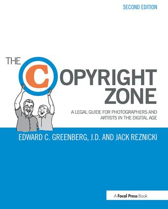 The Copyright Zone (Paperback) book cover