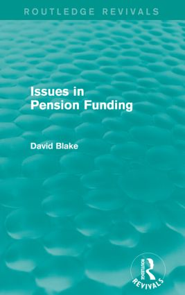 Issues in Pension Funding (Routledge Revivals) book cover