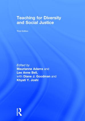 Teaching for Diversity and Social Justice: 3rd Edition (Hardback) book cover