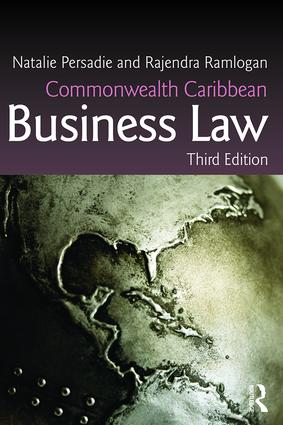 Commonwealth Caribbean Business Law book cover
