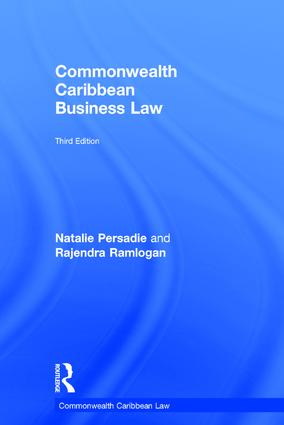 Commonwealth Caribbean Business Law: 3rd Edition (Hardback) book cover