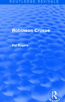 Robinson Crusoe (Routledge Revivals): 1st Edition (Paperback) book cover
