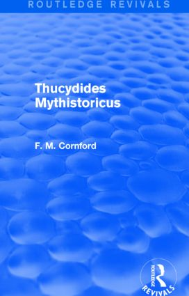Thucydides Mythistoricus (Routledge Revivals): 1st Edition (Paperback) book cover