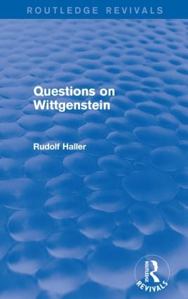 Questions on Wittgenstein (Routledge Revivals) book cover