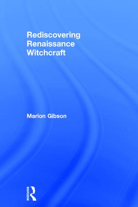 Rediscovering Renaissance Witchcraft book cover