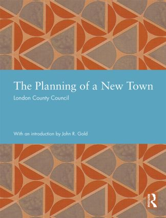 The Planning of a New Town book cover