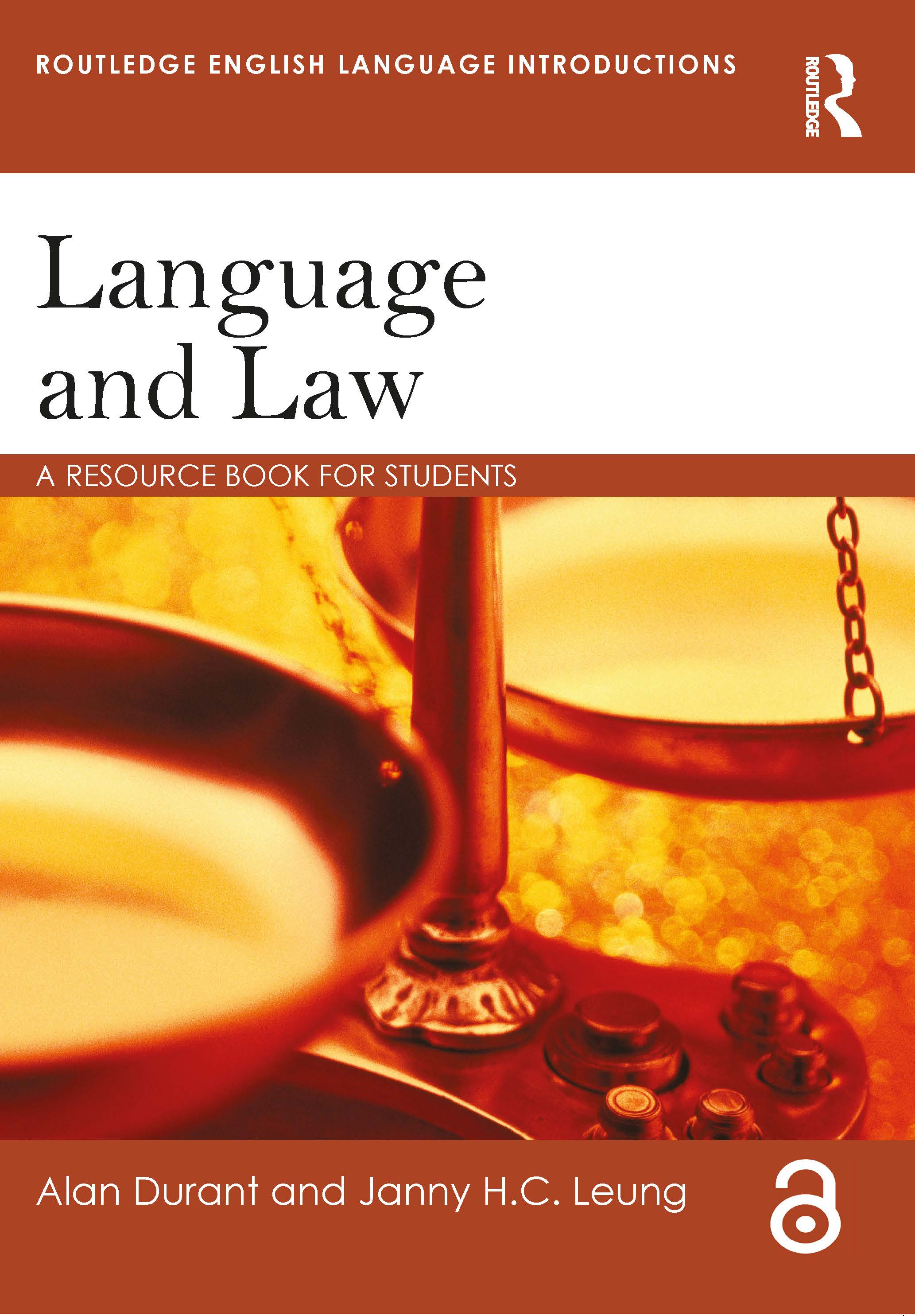 Language and Law: A resource book for students (Paperback) book cover