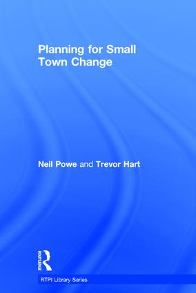 Planning for Small Town Change book cover