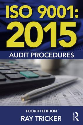 ISO 9001:2015 Audit Procedures: 4th Edition (e-Book) book cover