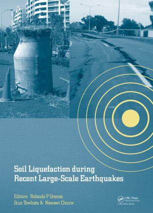 Soil Liquefaction during Recent Large-Scale Earthquakes: 1st Edition (Hardback) book cover