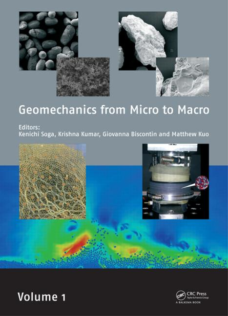 Geomechanics from Micro to Macro: 1st Edition (Pack - Book and CD) book cover