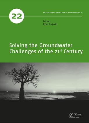 Solving the Groundwater Challenges of the 21st Century: 1st Edition (Hardback) book cover