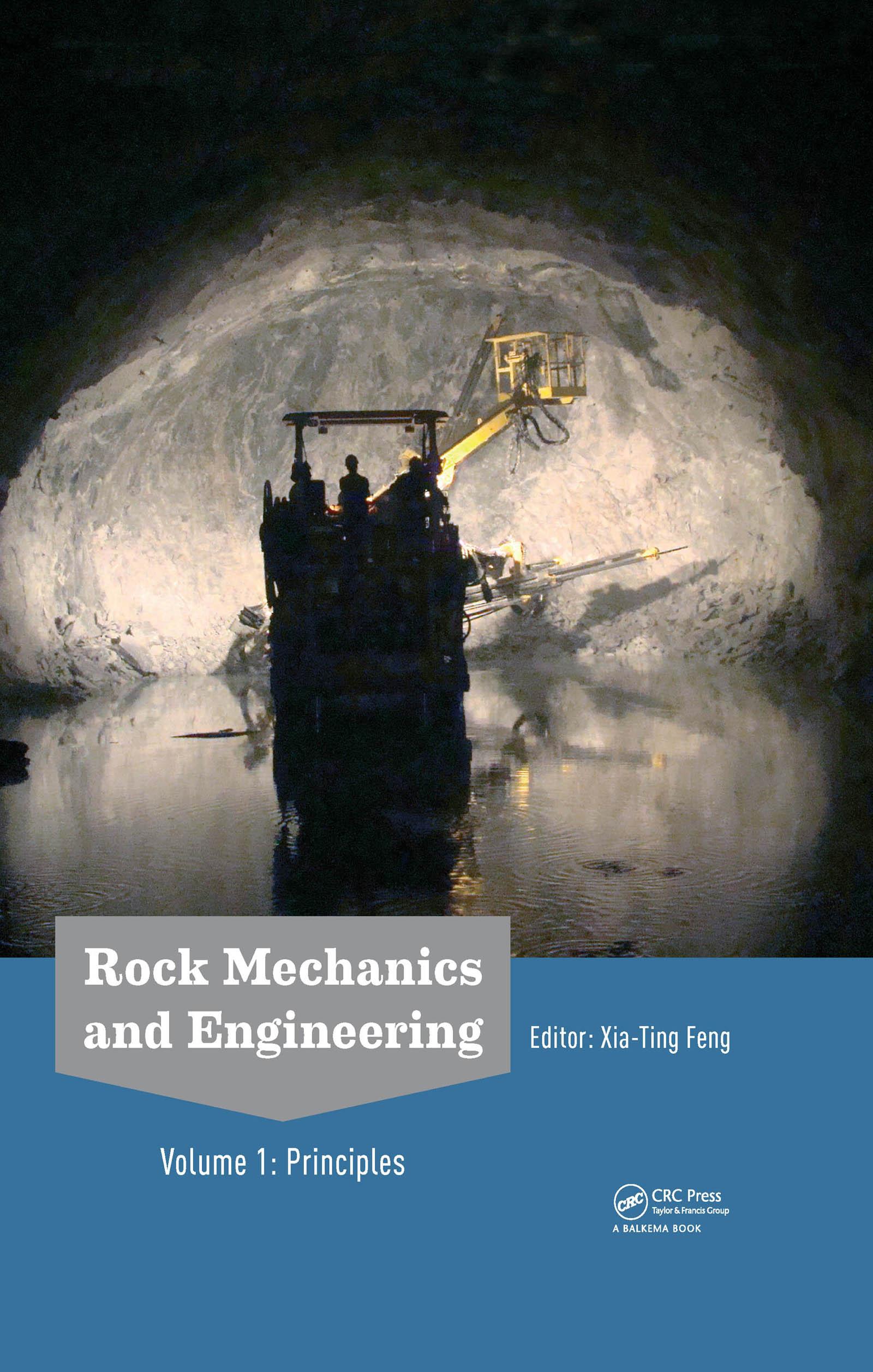 Rock Mechanics and Engineering Volume 1: Principles, 1st Edition (Hardback) book cover