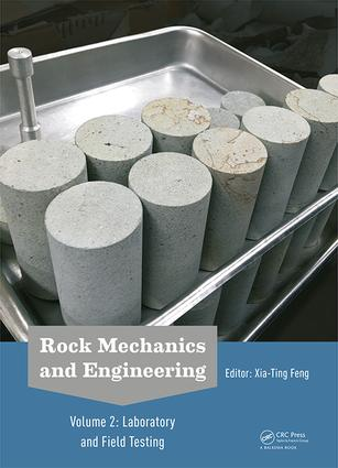 Rock Mechanics and Engineering Volume 2: Laboratory and Field Testing book cover
