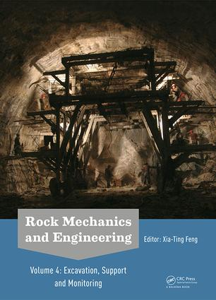 Rock Mechanics and Engineering Volume 4: Excavation, Support and Monitoring (Hardback) book cover