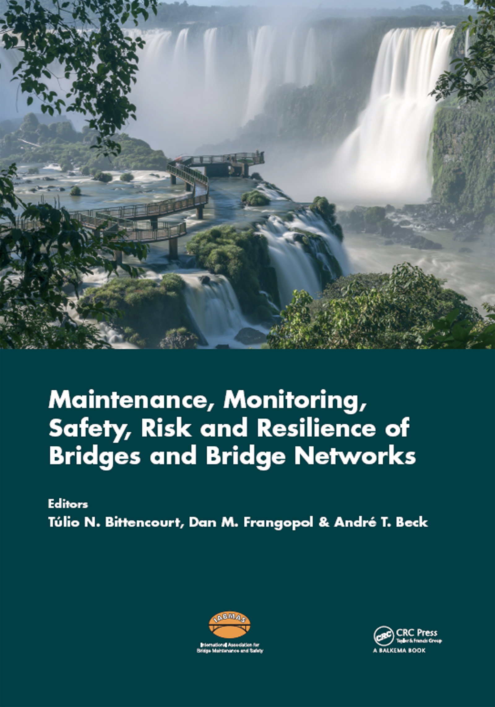 Maintenance, Monitoring, Safety, Risk and Resilience of Bridges and Bridge Networks: 1st Edition (Hardback) book cover