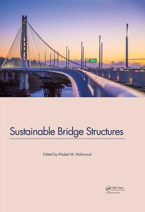 Sustainable Bridge Structures: Proceedings of the 8th New York City Bridge Conference, 24-25 August, 2015, New York City, USA, 1st Edition (Hardback) book cover