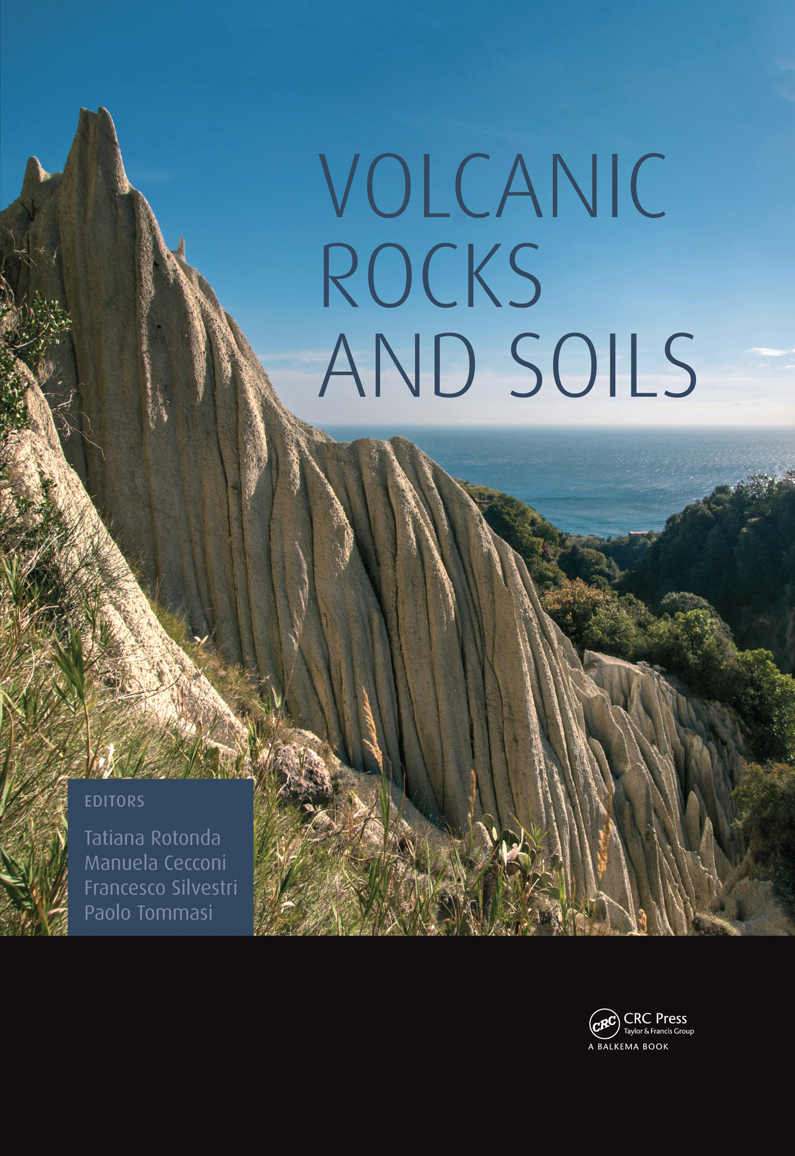 Volcanic Rocks and Soils: 1st Edition (Pack - Book and CD) book cover