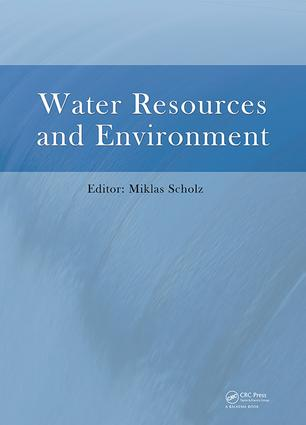 Water Resources and Environment: Proceedings of the 2015 International Conference on Water Resources and Environment (Beijing, 25-28 July 2015), 1st Edition (Hardback) book cover