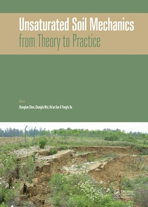 Unsaturated Soil Mechanics - from Theory to Practice: Proceedings of the 6th Asia Pacific Conference on Unsaturated Soils (Guilin, China, 23-26 October 2015), 1st Edition (Hardback) book cover