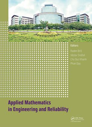 Applied Mathematics in Engineering and Reliability: Proceedings of the 1st International Conference on Applied Mathematics in Engineering and Reliability (Ho Chi Minh City, Vietnam, 4-6 May 2016), 1st Edition (Hardback) book cover