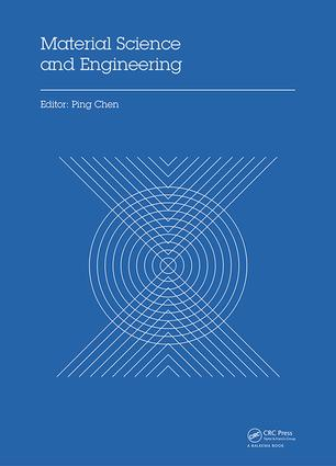 Material Science and Engineering: Proceedings of the 3rd Annual 2015 International Conference on Material Science and Engineering (ICMSE2015, Guangzhou, Guangdong, China, 15-17 May 2015), 1st Edition (Hardback) book cover