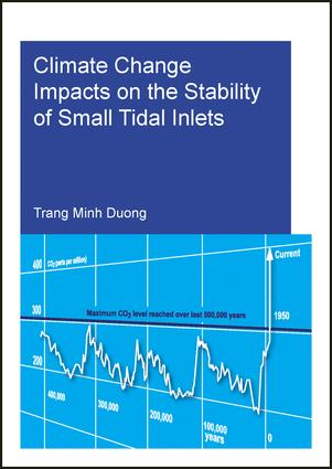 Climate Change Impacts on the Stability of Small Tidal Inlets: 1st Edition (Paperback) book cover