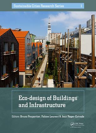 Eco-design of Buildings and Infrastructure (Hardback) book cover