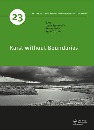 Karst without Boundaries: 1st Edition (Hardback) book cover