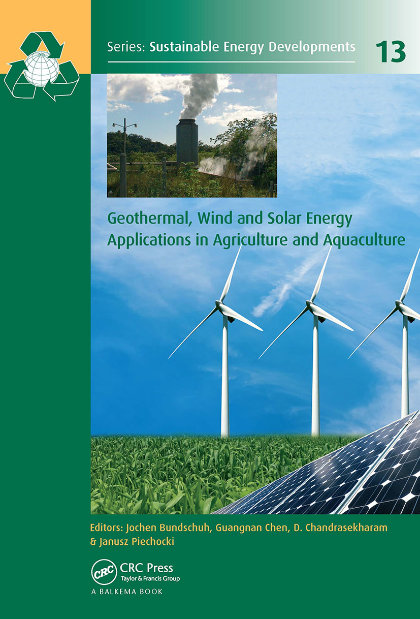 Geothermal, Wind and Solar Energy Applications in Agriculture and Aquaculture book cover