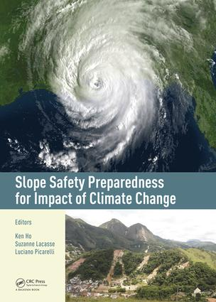 Slope Safety Preparedness for Impact of Climate Change: 1st Edition (Hardback) book cover