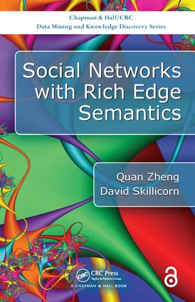 Social Networks with Rich Edge Semantics book cover